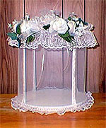 Decorated Display Cage